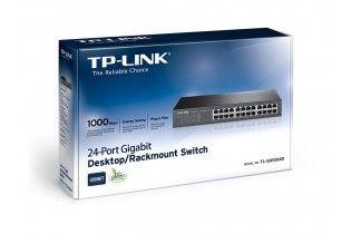 شبكات - GB Switch 24 ports TP-Link (SG1024D) Metal