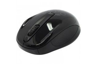 Mouse - Mouse Genius Wirelees NX-6510 Black Tattoo