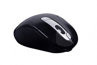 Mouse - Mouse Wireless A4tech G11-570FX Black