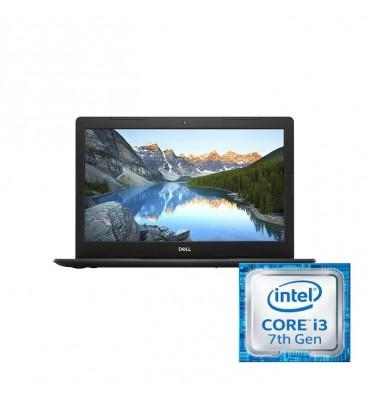 Dell Inspiron 3581-15 FHD-Intel Core i3-7020U-4GB RAM-1TB HDD-VGA Intel Graphics-DOS-Black
