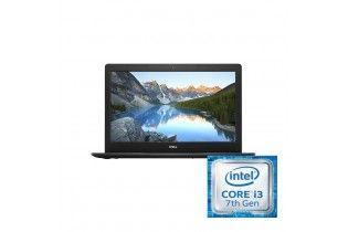 Laptop - Dell Inspiron 3581-15 FHD-Intel Core i3-7020U-4GB RAM-1TB HDD-VGA Intel Graphics-DOS-Black