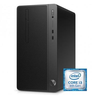 Desktop Hp 290 G2 Intel Core I3-8100-4GB DDR4-500GB HDD-Graphics 630-DOS-Black