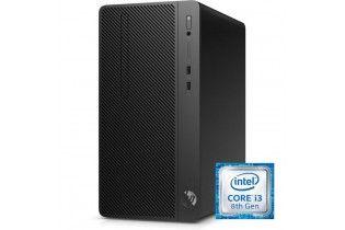 كمبيوتر مكتبى - Desktop Hp 290 G2 Intel Core I3-8100-4GB DDR4-500GB HDD-Graphics 630-DOS-Black