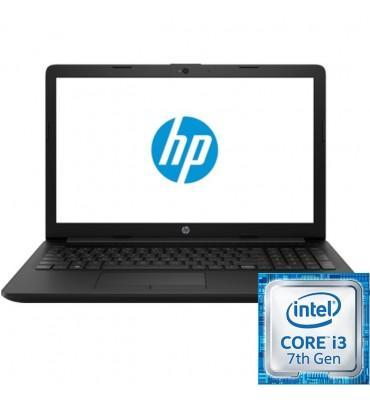"HP 15-da0088ne-15.6""HD-Intel Core i3-7100-4GB RAM-1TB HDD-VGA Intel HD Graphics 620–FREE DOS-Black"
