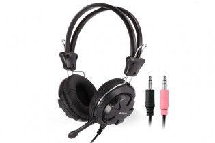 سماعات اذن - Headset A4tech HS-28 Black