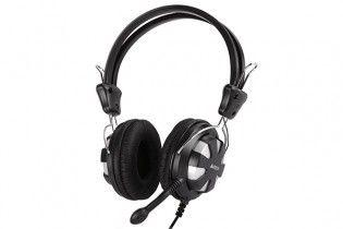 Headphones - Headset A4tech HS-28 Black + Grey