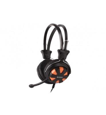 Headset  A4tech  HS-28 Black + Orange