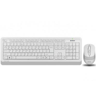 KB+Mouse A4Tech Wireless FG1010  white