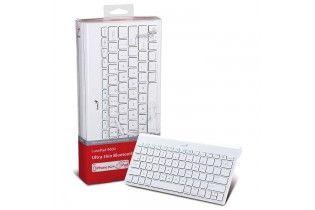 Keyboard & Mouse - KB Genius Luxepad 9000-Ultra-Thin Bluetooth-White Arabic