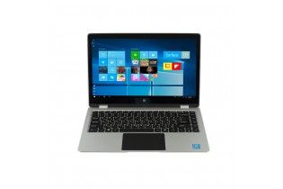 "Laptop - Cherry ZE55V-13.3"" YUGA-Touch-Intel Celeron N3350-RAM 4GB DDR3-64GB SSD-VGA Intel HD 4000 up to 2.3GB-Windows 10-Silve"
