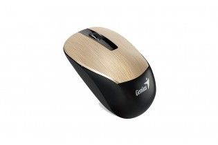 Mouse - Mouse Genius NX-7015-Blue Eye-Unified Receiver-Hairline Design 1600 DPI Gold