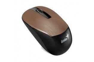 ماوس - Mouse Genius NX-7015-Blue Eye-Unified Receiver-Hairline Design 1600 DPI Brown