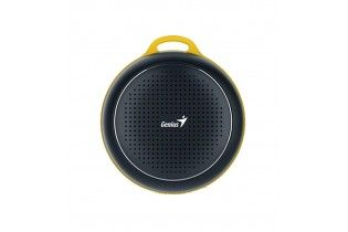 Speakers - SPEAKER Genius SP-906BT-5 HOURS PLAY TIME-500MAH BATTERY WITH CARABINER - CALM BLACK