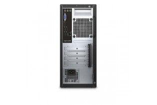 كمبيوتر مكتبى - Desktop Dell Inspiron 3668-intel Core i3-7100-4GB DDR4-1TB HDD-Nvidia GT 710 2G-DOS-Black