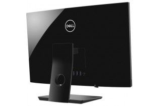"كمبيوتر مكتبى - Dell All-in-one Inspiron 3480-Intel Core i7-8565U-12GB DDR4-1TB HDD-23.8"" FHD Touch-Intel UHD Graphics 620-DOS-"