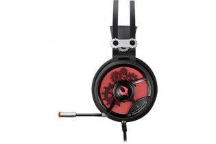 Headphones - Headset Bloody M660 7.1 HiFi USB BLACK+RED