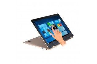 Laptop - Cherry ZE55L YUGA-Intel Celeron N3350-RAM 4GB-64GB-Intel HD Graphics-13.3FHD MULTI TOUCH YUGA-Win 10-Gold