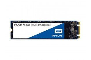 هارد ديسك - WD HDD Blue 3D NAND 500GB PC SSD - SATA III 6 Gb/s, M.2 2280
