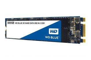 Hard Drive - WD HDD Blue 3D NAND 500GB PC SSD-SATA III 6 Gb/s-M.2