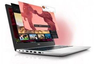 """Laptop - Dell Inspiron N 5583 Intel Core i7-8565U-16GB RAM DDR4-2TB HDD-DVD-VGA NVidia MX130 4GB-15.6"""" FHD-DOS-Silver"""