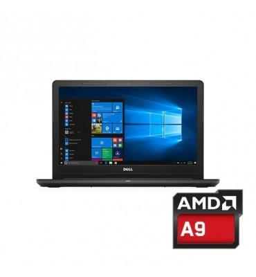 "Dell Inspiron 3565-AMD A9-9425-4GB RAM DDR4 DDR3-500GB HDD-VGA AMD Radeon R5-2GB -15.6""-DOS-Black"