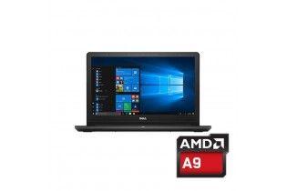 """Laptop - Dell Inspiron 3565-AMD A9-9425-4GB RAM DDR4 DDR3-500GB HDD-VGA AMD Radeon R5-2GB -15.6""""-DOS-Black"""