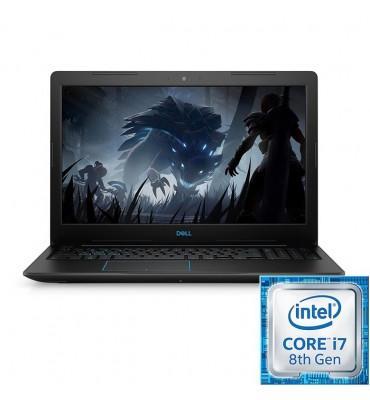 "DELL Inspiron G 3-3579-Intel Core i7-8750H-16GB RAM DDR4-1TB HDD-SSD 256GB-VGA GTX 1050Ti 4GB-15.6""-DOS-Black"
