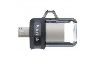 Flash Memory - Flash Memory256GB SanDisk (Ultra Dual Drive) OTG, Gray
