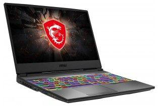 """Laptop - msi GP65 Leopard 9SE Intel Core i7-9750H-16GB DDR4-1TB+SSD 256GB-NVIDIA RTX2060 6GB-15.6"""" IPS FHD-Win 10-BLACK"""
