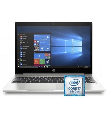 "HP ProBook 450-G6 Intel Corei7-8565U-8GB RAM-1TB HDD- NVIDIA MX130-2GB-FPR-15.6""HD-Dos-Silver+BAG"
