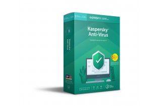 Software - KasperSky AntiVirus 4 users (2 + 2)