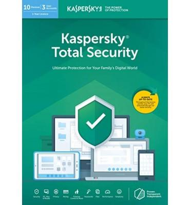 KasperSky Total Security 4 users (3 + 1)