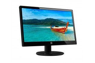 Desktop - Desktop PC HP 460-P291NEM i3-7100-4G RAM-1TB HDD-VGA Intel Graphics 630-DOS-Glossy Black + HP 19ka Monitor 18.5