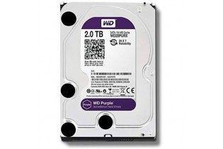 HDD - H.D 2 TB W.D SATA PURPLE