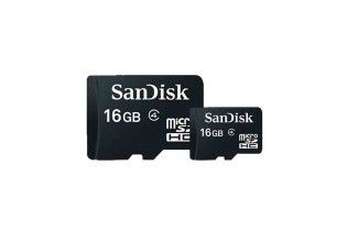 Memory Cards - Micro SD SDHC SanDisk 16GB