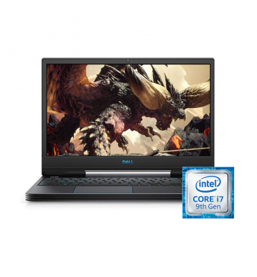 Dell Inspiron G5-N 5590-Core i7-9750H-16GB-1TB-SSD 256GB-GTX1650-4GB-15.6 FHD-Dos-Black