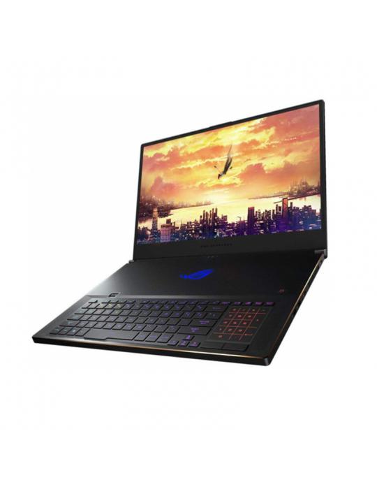 كمبيوتر محمول - ASUS ROG-Zephyrus-S- core I7-9750H-BGA-32GB DDR4-1TB PCIE G3X4 SSD-NVIDIA GEFORCE 2080Q GDDR5 8GB