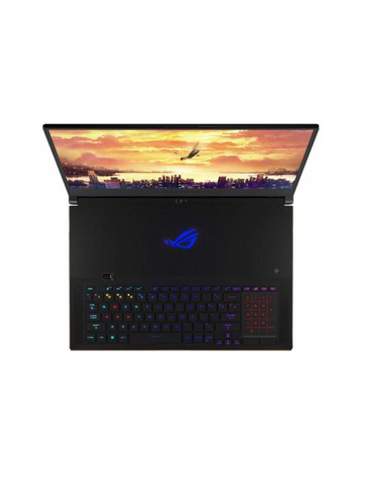 Laptop - ASUS ROG-Zephyrus-S- core I7-9750H-BGA-32GB DDR4-1TB PCIE G3X4 SSD-NVIDIA GEFORCE 2080Q GDDR5 8GB