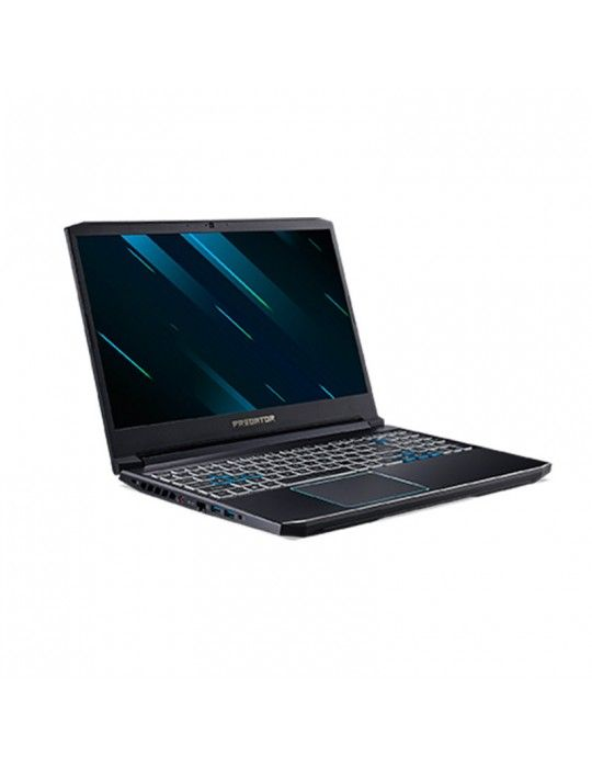 "Laptop - Acer Predator Helios 300 PH315-52-75C6-core i7-9750H-16GB DDR4-2TB HDD-512GB SSD-NVIDIA® GeForce® GTX 1660Ti 6GB-15.6"""