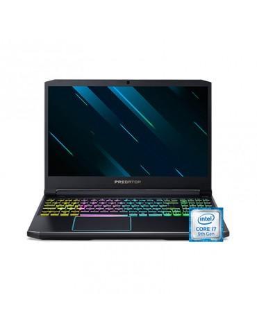 """Acer Predator Helios 300 PH315-52-75C6-core i7-9750H-16GB DDR4-2TB HDD-512GB SSD-NVIDIA® GeForce® GTX 1660Ti 6GB-15.6"""" FHD"""