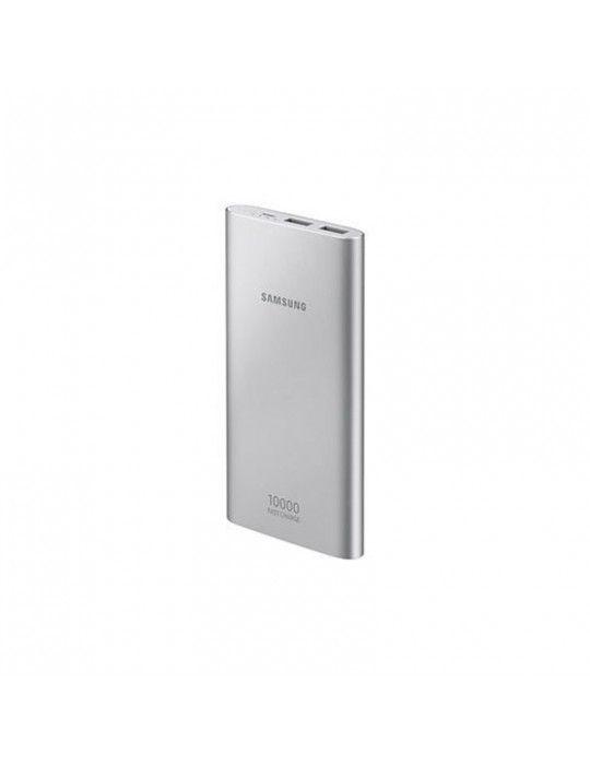 Power Bank - Samsung Dual USB Power bank-10000 MAh-Silver