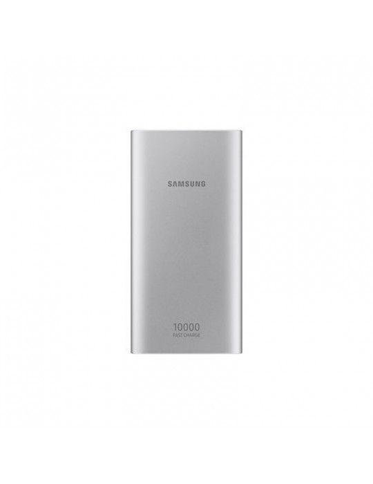 باور بانك - Samsung Dual USB Power bank-10000 MAh-Silver