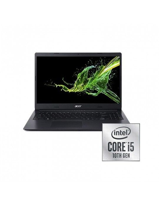 """كمبيوتر محمول - Acer Aspire A315-55G-51S3-Core™ i5-10210-8GB DDR4-1TB HDD-265GB SSD-NVIDIA® GeForce® MX230 2GB-15.6""""FHD-Win 10"""