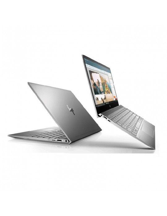 Laptop - HP ENVY 13t-aq100 i7-10510U-16GB Ram-512 GB SSD-VGA Geforce MX150 2GB-Display 13.3 FHD Touch-ENG KB-Win10-silver