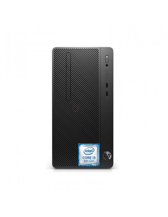 كمبيوتر مكتبى - Desktop HP 290 G2M i3-8100-4GB-1TB-Intel Graphics-Monitor 19