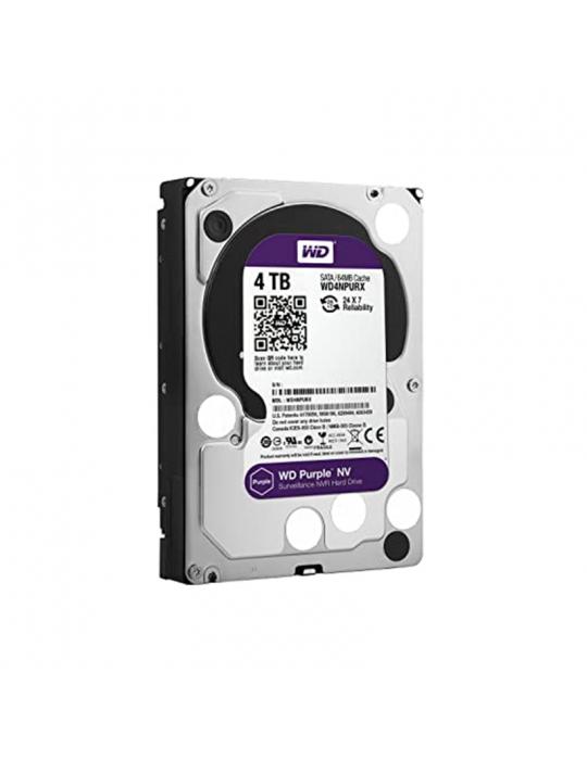 Hard Drive - H.D 4TB W.D SATA Purple