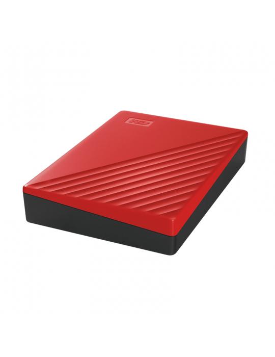 Hard Drive - HDD External WD 2T.B Passport USB3-Red