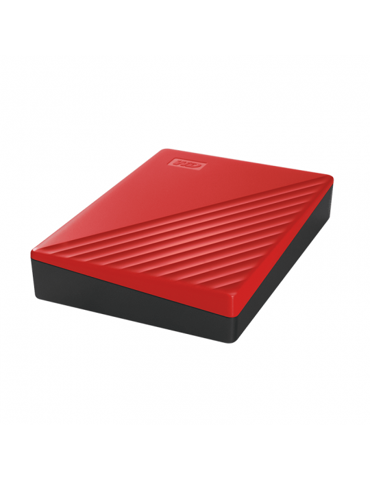 هارد ديسك - HDD External WD 2T.B Passport USB3-Red