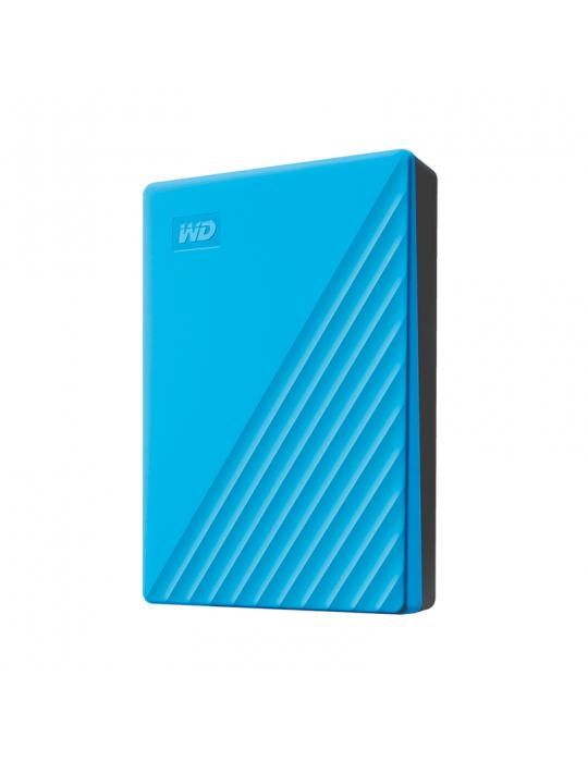 هارد ديسك - HDD External WD 2T.B Passport USB3-Blue