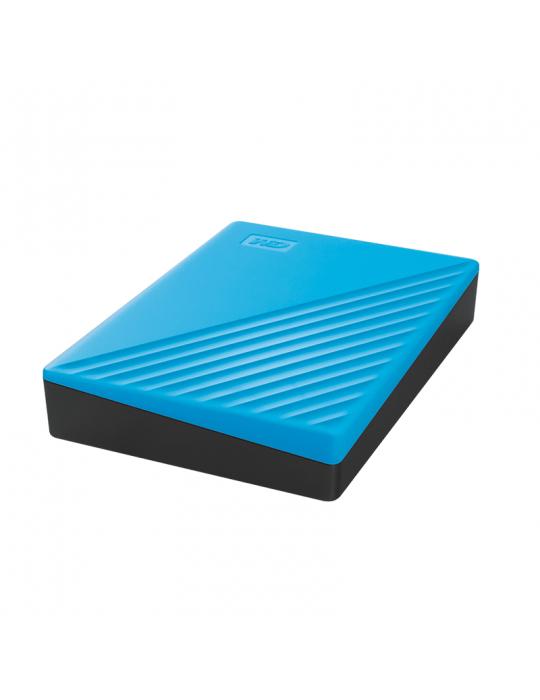 Hard Drive - HDD External WD 2T.B Passport USB3-Blue